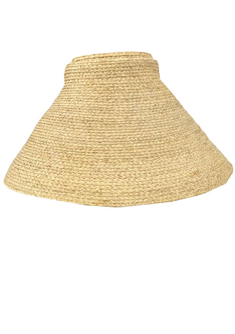 Raffia Straw New Look Recreation Hat - New! (ON HOLD)