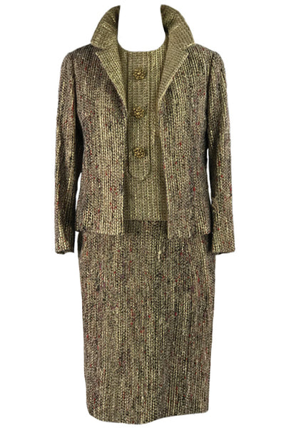 Couture Dior Documented 1960s Suit - New!