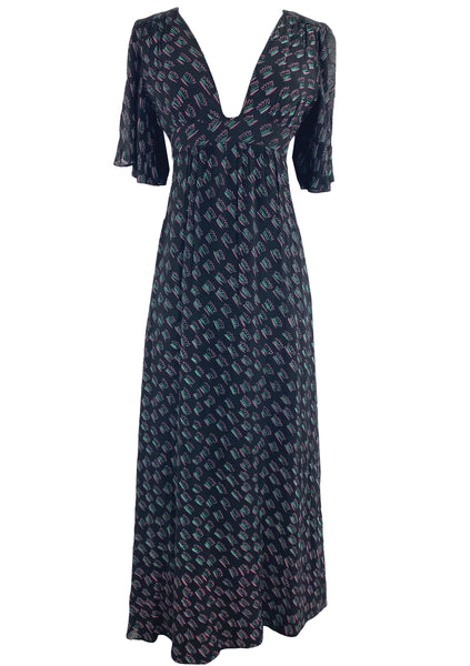 Collectable 1970s Designer Ossie Clark Dress - New!