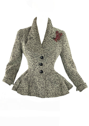 Sophisticated 1950s Lilli Ann Designer Jacket- New!