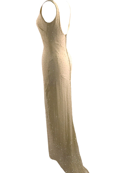 Recreation of Marilyn Monroe's Birthday Wedding Gown - New!
