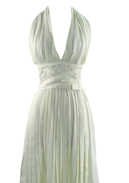 Recreation of Marilyn's Iconic 1955 Subway Dress- New!