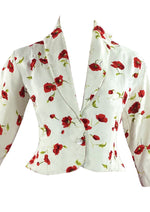 Late 1950s Early 1960s Red Poppy Jacket- New!