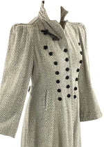 Fabulous Late 1930s to Early 1940s Flecked Wool Coat- New!