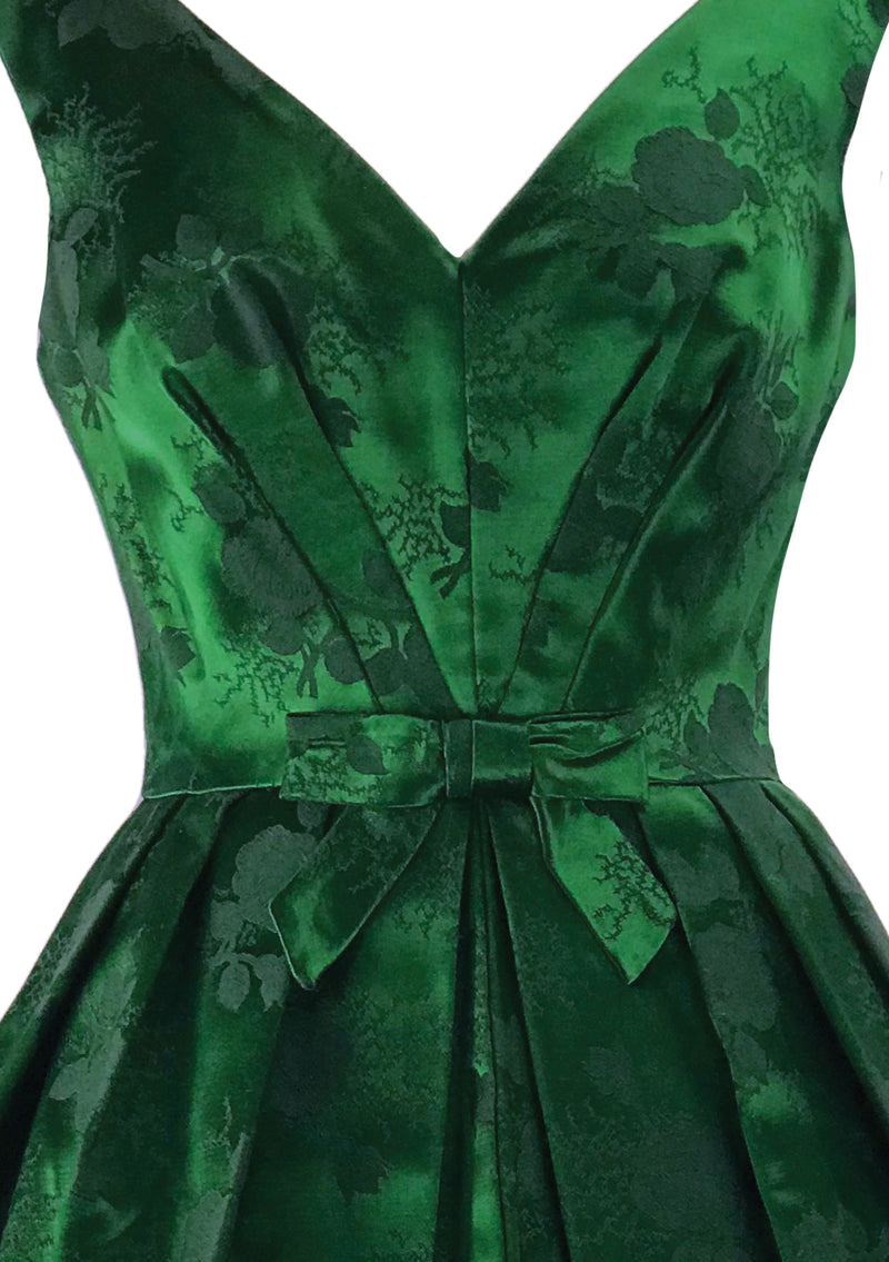 Gorgeous late 1950s cotton day dress