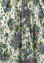 Vintage 1950s Pink, Purple and Blue Floral Sprays- New!