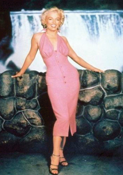 Recreation of Marilyn Monroe's Dress In Niagara Film - New!