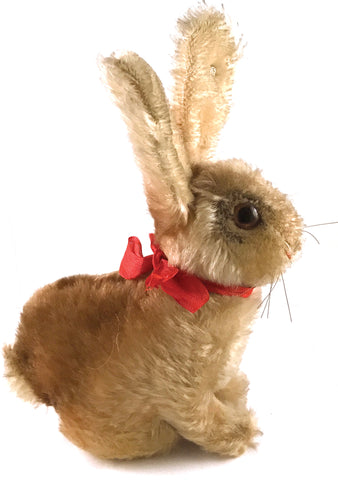 Vintage 1950s Steiff Beige Rabbit Toy - New!