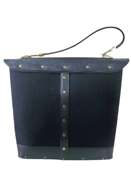 Vintage 1960s Spanish Dancer Jewelled Bucket Handbag