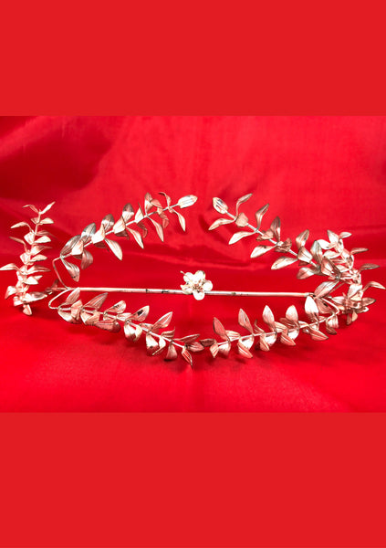 Beautiful 1920s German Silver Headpiece