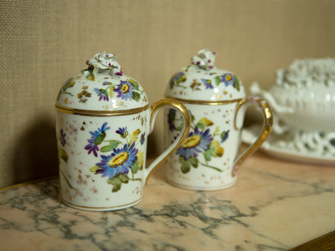 Porcelain Chocolate Cups