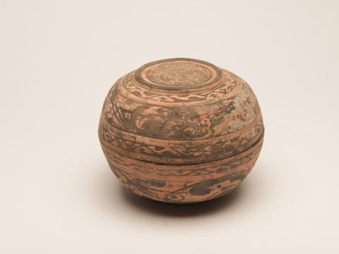Chinese Han Dynasty Lidded Pot