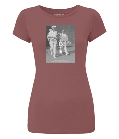 Women's Vintage Tennis T-Shirt