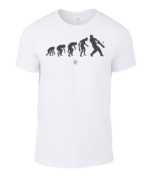 Childrens Evolution Cricket T-Shirt