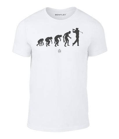 Children's Evolution Golfer T-Shirt
