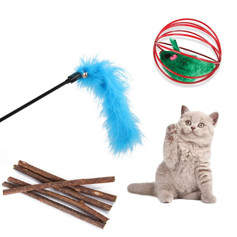 28Pcs/Set Pet Kit Collapsible Tunnel Cat Toy