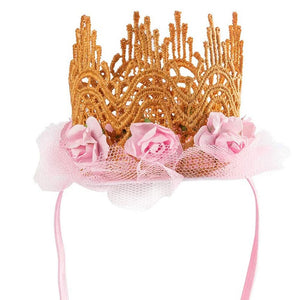 Tutu Skirt Bow Tie and Crown Cute Dog Cat Birthday Wedding Set