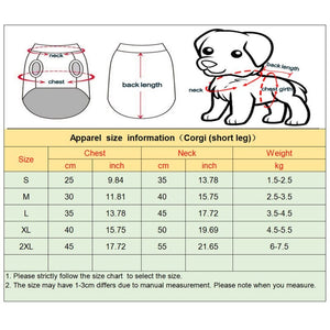 Pet Clothes For Small Dogs Waterproof Puppy Pet Jacket Winter Warm Vest
