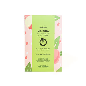 Matcha Detoxifying Clay Mask (3 Uses)
