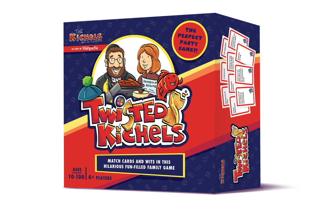 Twisted Kichels -Age 8+