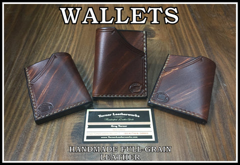 Custom Leather Wallet and Card Holders
