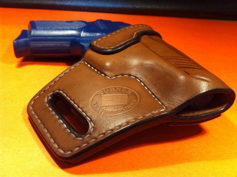 Turner Leatherworks TBR™ (OWB) Leather Holster (fits: All BERSA Models)