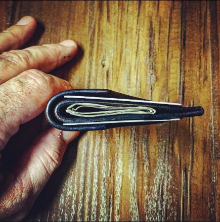 Handmade Leather Minimalist Front Pocket Wallet