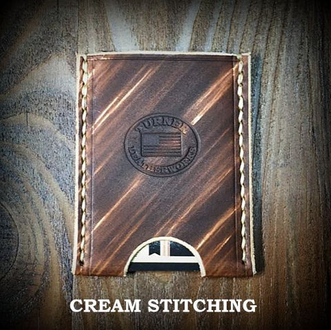 Custom Leather Business Card Holder Business Card Sleeve