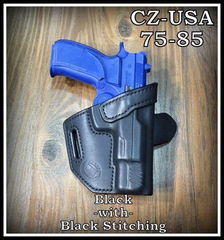 Turner Leatherworks TBR™ (OWB) Leather Holster (fits: All CZ-USA Models)