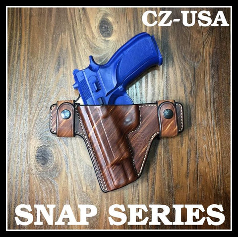 Turner Leatherworks SNAP Series™ Leather Holster CZ-USA (All Models)