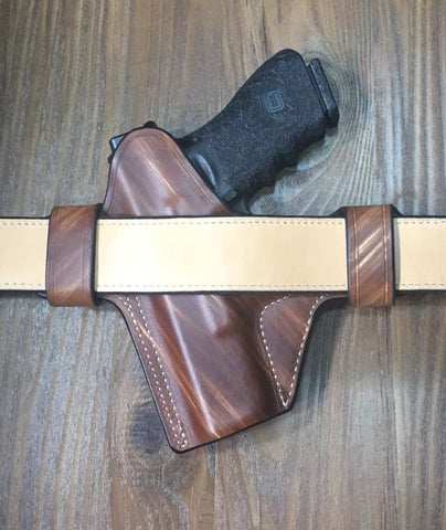 Custom Leather Glock Holster