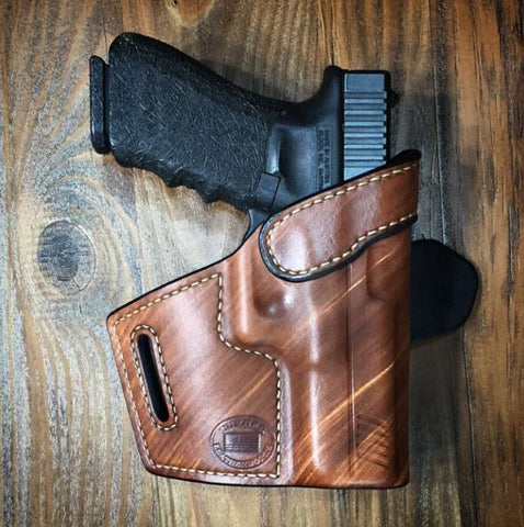 Turner Leatherworks TBR™ (OWB) Leather Holster (fits: All Models of GLOCK)