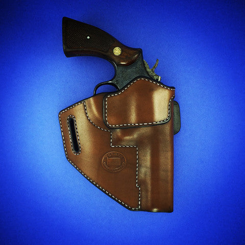 Turner Leatherworks TBR™ (OWB) Leather Holster (fits: All Smith & Wesson K and L Frame Revolvers)