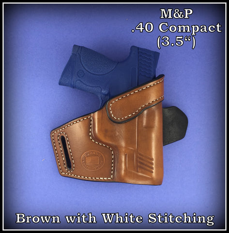 Turner Leatherworks TBR™ (OWB) Leather Holster (fits: all Smith & Wesson Semi-Auto Models)