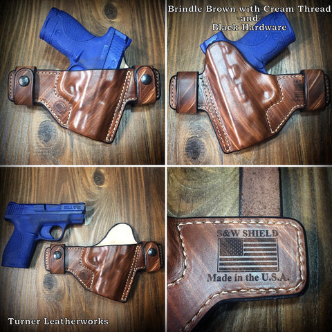 Turner Leatherworks SNAP Series™ Leather Holster SMITH & WESSON Semi-Auto (All Models)