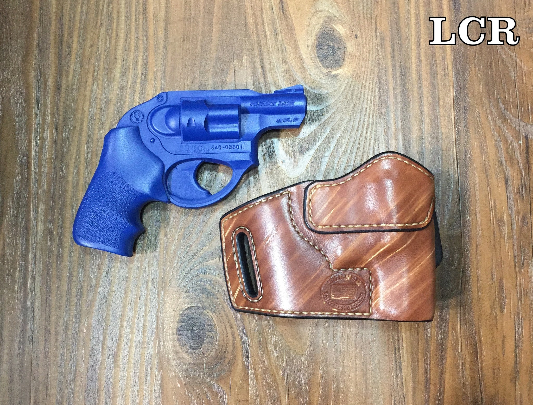 Custom Leather Holster for Ruger Semi-Auto Handguns LC9 LCR LCP SR9