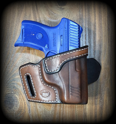 Turner Leatherworks TBR™ (OWB) Leather Holster (fits: All Ruger Semi-Auto Models)