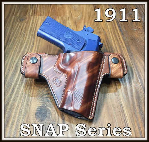 Turner Leatherworks SNAP Series™ Leather Holster 1911 (All Models)