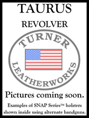 Turner Leatherworks SNAP Series™ Leather Holster RUGER Revolver (All Models)