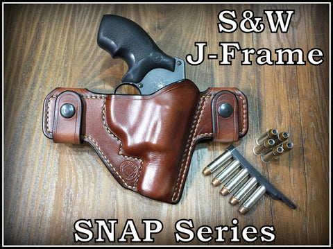 Turner Leatherworks SNAP Series™ Leather Holster SMITH & WESSON Revolver (J-Frame Models)