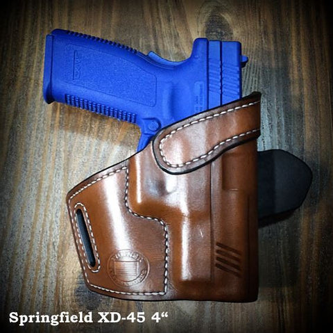 Turner Leatherworks TBR™ (OWB) Leather Holster (fits: All Springfield Semi-Auto Models)