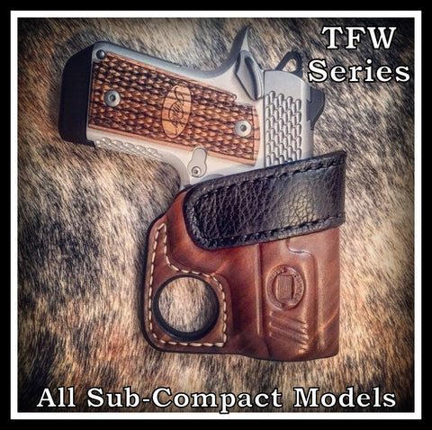 Turner Leatherworks TFW™ (Pocket/Purse) Leather Holster (fits: All Sub-Compact Handgun Models)