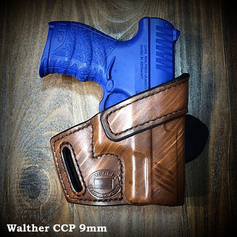 Custom leather holster for Walther CCP PPK PPQ PPS PPX