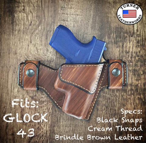 Turner Leatherworks SNAP Series™ Leather Holster Glock (All Models)