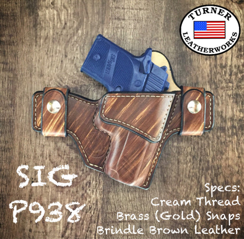 Turner Leatherworks SNAP Series™ Leather Holster SIG SAUER (All Models)
