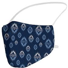 Whitecaps All Over Face Cover