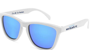 Society43 Whitecaps FC Sunglasses- White