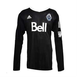 Mens Goalie Jersey LS Black
