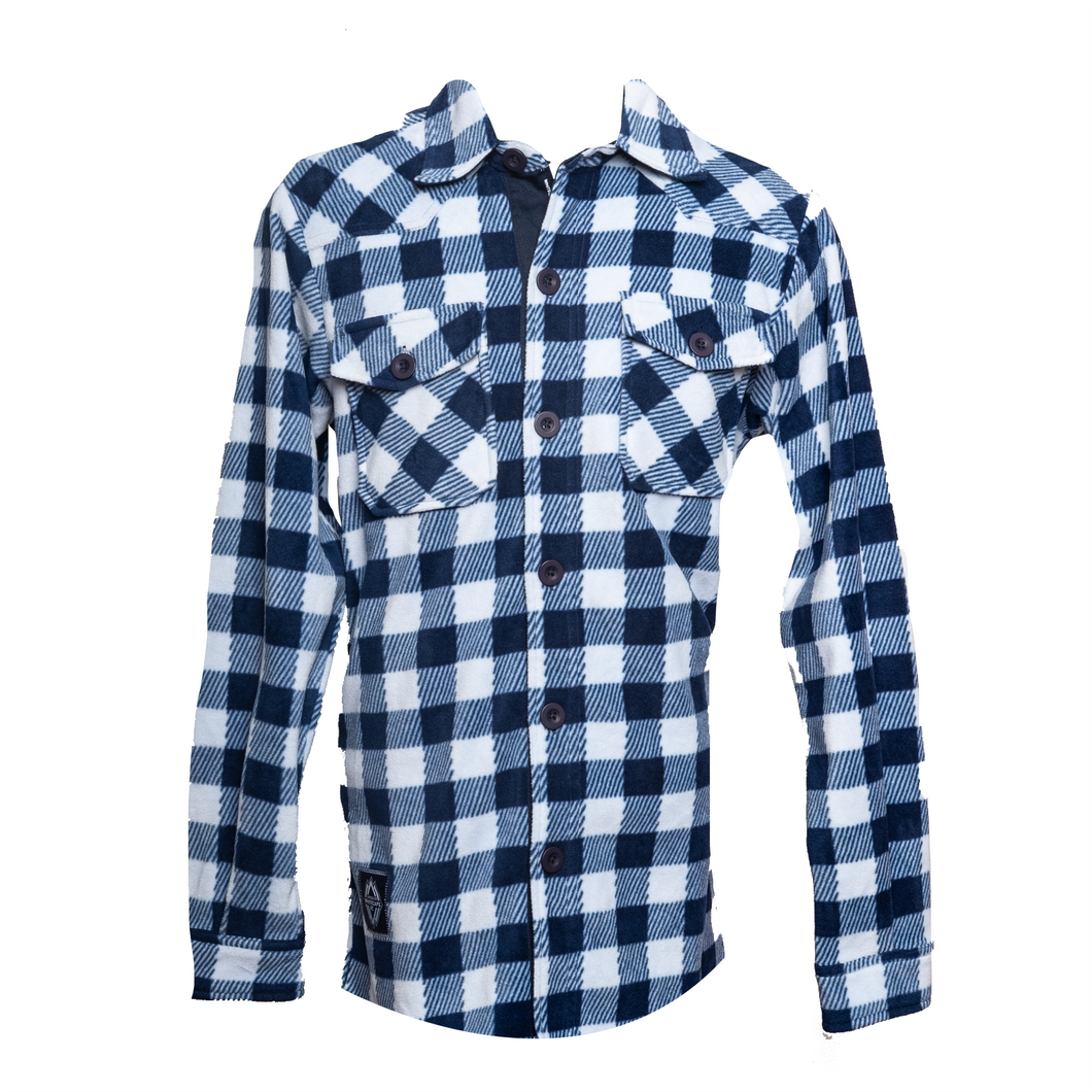 Mens Lumberjack Fleece Shirt