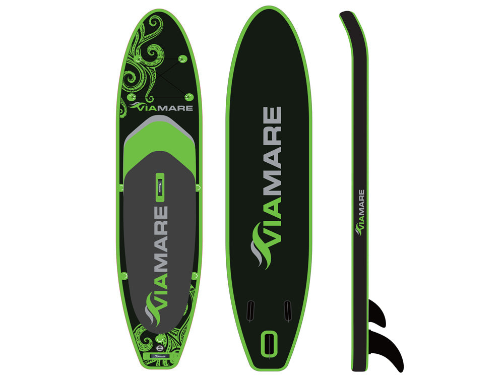 SUP Stand up Paddle Board Set VIAMARE 330 S Octopus green/black